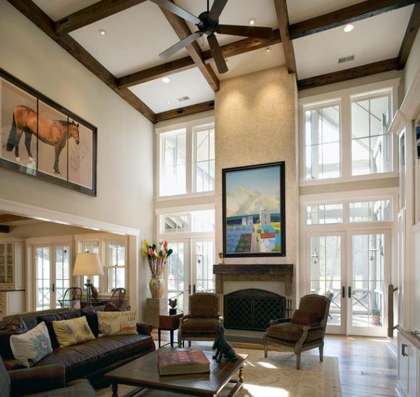 High Ceiling Interior Design